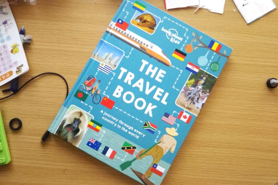 読書に興味のない子供の多読THE TRAVEL BOOK